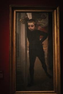 Portrait de Jean Besnard (fils du peintre - à 7 ans environ)- Albert Besnard
